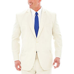 Stafford® Travel Stone Suit Jacket–Big & Tall