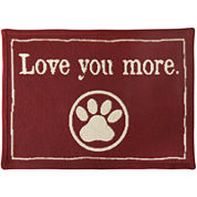 PB Paws by Park B. Smith® Love You More Tapestry Pet Mat