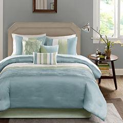 Madison Park Chester Colorblock 7-pc. Comforter Set