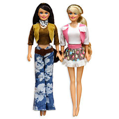 Harbor Trade 2-Pack Western Cowgirl Dolls