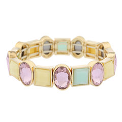 Monet Jewelry Womens Multi Color Stretch Bracelet