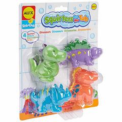 Alex Toys Rub A Dub Bath Squirters Dinos 4-pc. Toy Playset