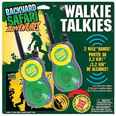 Backyard Safari Walkie Talkies Unisex 4-pc. Dress Up Accessory
