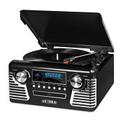Victrola V50-200 50s Retro Stereo with Turntable, CD Player and Bluetooth