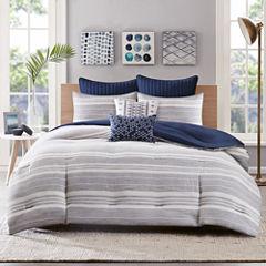 Miller Stripe 3-pc. Comforter Set