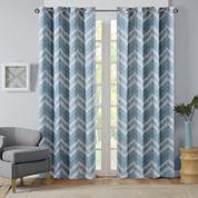 Nara Blackout Grommet-Top Curtain Panel