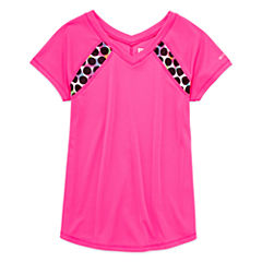 Xersion Performance Short Sleeve Training Top - Girls 7-16 and Plus