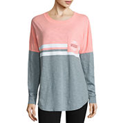 Flirtitude Long Sleeve T-Shirt-Juniors