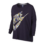 Nike Long Sleeve Scoop Neck T-Shirt