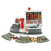Toy Cash Register with Scanner