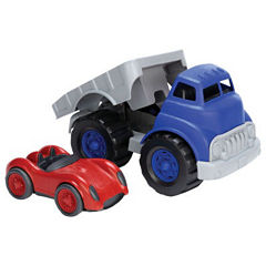 Green Toys Flatbed With Race Car
