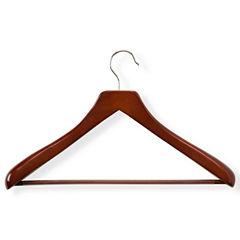 Honey-Can-Do® Deluxe Contoured Suit Hanger + Nonslip Bar