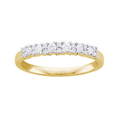 1/4 CT. T.W. Diamond 10K Yellow Gold Anniversary Band