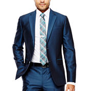 J.Ferrar Slim Fit Woven Suit Jacket