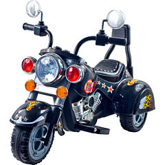 Lil' Rider Black Road Warrior Ride-on Motorcycle
