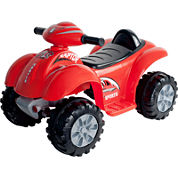 Lil' Rider Battery-Powered Red Raptor Ride-on 4 Wheeler