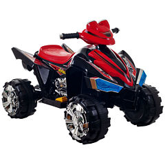Lil' Rider Pro Circuit Hero Ride-On 4-Wheeler with Sound Effects