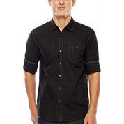 Michael Brandon® Roll-Sleeve Shirt