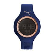 Puma Unisex Blue Strap Watch-Pu910801045