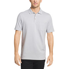 Van Heusen Short Sleeve Flex Stripe Polo Shirt