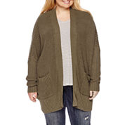 Arizona 3/4 Sleeve Cardigan Juniors Plus