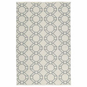 Kaleen Brisa Rings Negative Rectangle Accent Rug