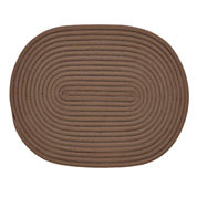 Better Trends Bouncy Braided Oval Reversible Accent Rug