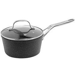 The Rock by Starfrit 2-qt. Nonstick Saucepan with Lid