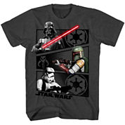 Boys Star Wars Graphic T-Shirt-Big Kid
