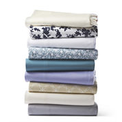 JCPenney Home™ 325tc Cotton Print sheet set