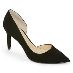 Liz Claiborne® Zahara Leather Dress Pumps