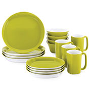 Rachael Ray® Round & Square 16-pc. Dinnerware Set