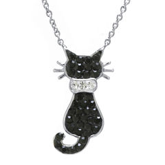 Crystal Sophistication™ Crystal Cat Necklace