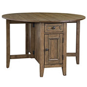 Standard height dining room tables for the home jcpenney for Dining room tables jcpenney
