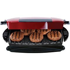 George Foreman® 5-Serving Removable Plate Grill