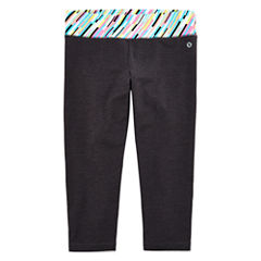 Xersion Solid Yoga Capri Legging - Girls' 7-16 and Plus