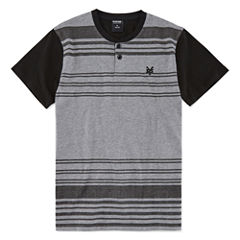 Zoo York Short Sleeve Henley Shirt - Big Kid Boys