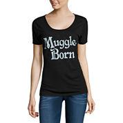 Black Muggle-Born Scoop-Neck