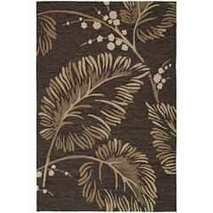 Kaleen Home And Porch Palms Hand Tufted Rectangular Rugs