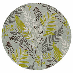 Kaleen Home And Porch Mod Leaf Hand Tufted Rectangular Rugs