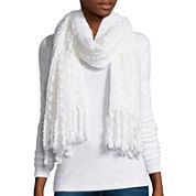 Mixit™ Zig Zag Oblong Scarf with Fringe