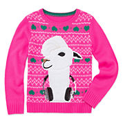 Total Girl® Christmas Sweater - Girls 7-16 and Plus