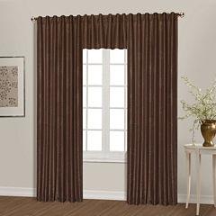 United Curtain Co. Starburst Back-Tab Curtain Panel