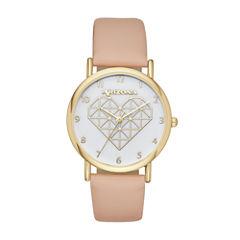 Arizona Womens Pink Strap Watch-Fmdarz134