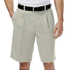Haggar® Cool 18® No-Iron Pleated Shorts