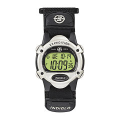 Timex® Expedition® Black Nylon Fast Strap Digital Watch T478529J