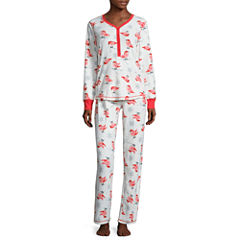Pj Couture Pant Pajama Set-Juniors