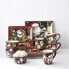 Certified International Santa's Workshop Dinnerware Collection