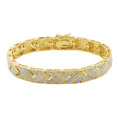 Sparkle Allure Womens Diamond Accent Bangle Bracelet