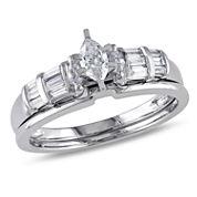 1/2 CT. T.W. White Diamond 10K Gold Bridal Set